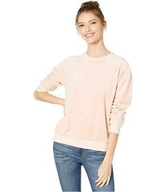 Juicy Couture Luxe Velour Crew Pullover