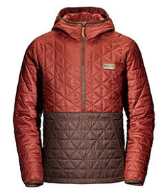 LL Bean Katahdin Insulated Pullover, Colorblock