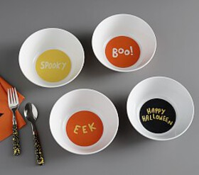 Pottery Barn Halloween Glow-in-the-Dark Bowls