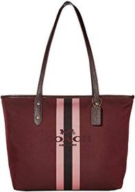COACH Horse and Carriage Jacquard City Tote