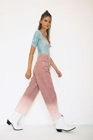 House Of Sunny The Fades Corduroy High-Waisted Pan