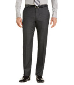 Jos Bank Traveler Collection Slim Fit Flat Front S
