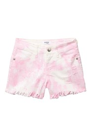 bebe Tie Dye Shorts with Sequins (Big Girls)