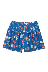 bebe Printed Chiffon Shorts (Big Girls)