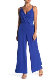 ONE ONE SIX Draped Shoulder Jumpsuit