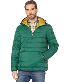 IZOD Quilted Popover Hooded Jacket
