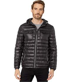 Kenneth Cole New York Packable Double Pocket Jacke