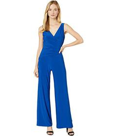 Nine West Ity Sleeveless Jumpsuit w\u002F Surplus