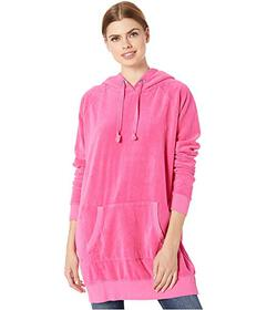 Juicy Couture Velour Oversized Boyfriend Hoodie