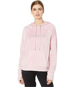 Bebe Sport Velour Pullover with Rivet Stud Logo