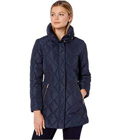Cole Haan Diamond Quilted Down Jacket
