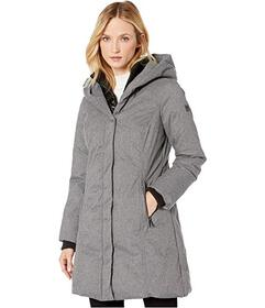 Kenneth Cole New York Brushed Twill Puffer