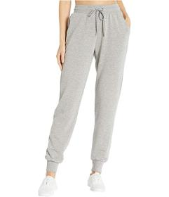 Bebe Sport Fleece Joggers with Rivet Logo