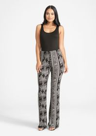 Tall Elana Printed Pants