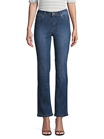 JONES NEW YORK High-Rise Jeans MID SKY WASH