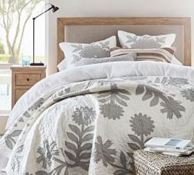 Pottery Barn Lilo Cotton Quilt & Shams