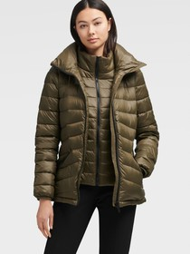 Donna Karan PACKABLE QUILTED JACKET