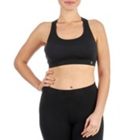 Seamless Sports Bra with Caged Back