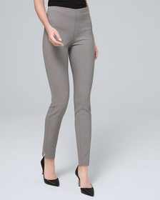 Comfort Stretch Textured Skinny Ankle Pants