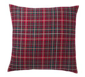 Pottery Barn Lynbrook Plaid Cotton Shams