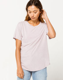 FULL TILT Essentials Lavender Womens Tee_