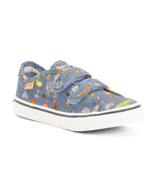KEDS Printed Velcro Sneakers (Toddler)