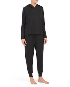 NICOLE MILLER French Terry Hoodie With Joggers Paj