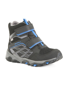 MERRELL Waterproof Snow Boots (Little Kid, Big Kid