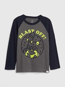Toddler Glow-in-the-Dark Graphic T-Shirt