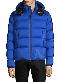 Moncler Quilted Full-Zip Jacket ROYAL