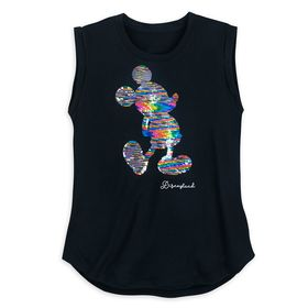 Disney Mickey Mouse Reversible Sequin Tank Top for