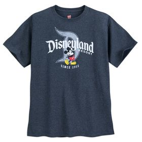 Disney Mickey Mouse with Disneyland Logo T-Shirt f