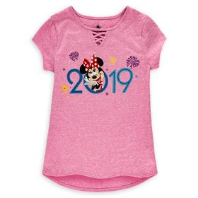 Disney Minnie Mouse Fashion Top for Girls – Disney