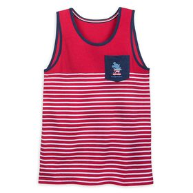 Disney Mickey Mouse Americana Pocket Tank Top for