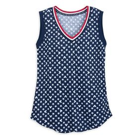Disney Mickey Mouse Americana Tank Top for Women