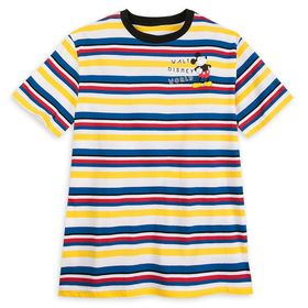 Disney Mickey Mouse Striped T-Shirt for Men – Walt