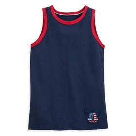 Disney Mickey Mouse Americana Tank Top for Boys –
