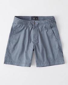 Pull-On Shorts, BLUE GREY