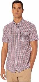 Ben Sherman Short Sleeve Multi Mini Check Shirt