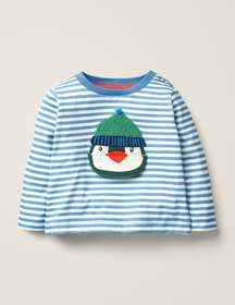 Boden Novelty Lift-The-Flap T-shirt