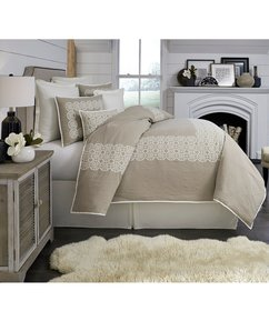 Southern Living Townsend Embroidered Duvet Mini Se