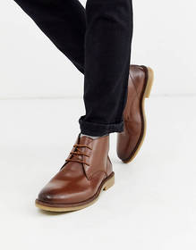 French Connection leather chukka boot