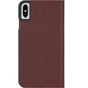 Case-Mate iPhone Xs Max Barely There Folio Brown C