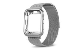 Luxury Cover Rugged Bumper Case W/ Mesh Stainless