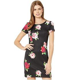 Betsey Johnson Floating Roses Scuba Dress