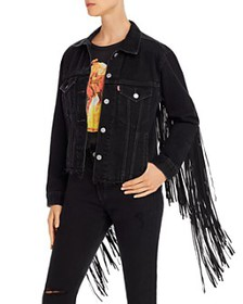 Levi's - Ex-Boyfriend Fringed Trucker Jacket