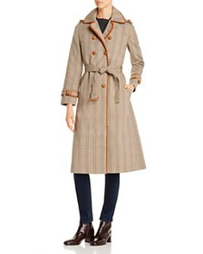 Tory Burch - Plaid Trench Coat