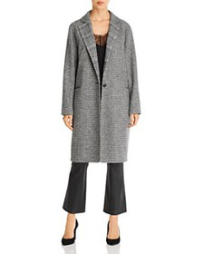 7 For All Mankind - Mixed Pattern Long Coat