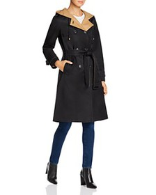 kate spade new york - Contrast-Lined Trench Coat