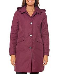 kate spade new york - Hooded Trench Coat